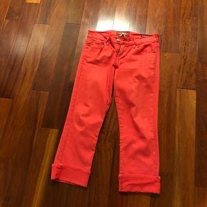 Capris jean pants